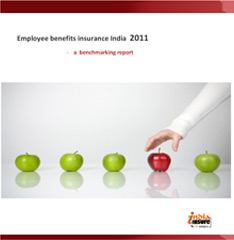 Employee Benefits Insurance Benchmarking Study India- 2011
