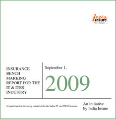 Insurance Risk Management  Benchmarking Report for IT ITES Industry - 2009